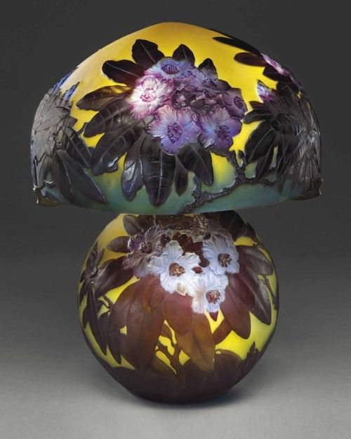 Galle Rhododendron table lamp