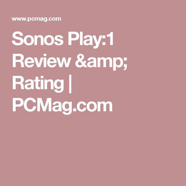 Sonos Play:1 Review & Rating | PCMag.com