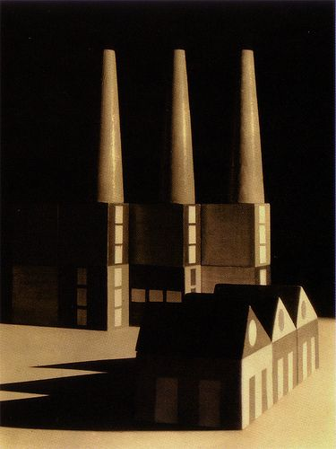 Factory Town building block set 1927: Ladislav Sutnar