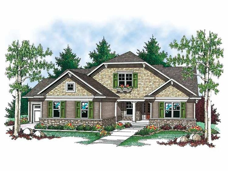 French Country Ranch House Plans 102 best house plans images on pinterest | small house plans