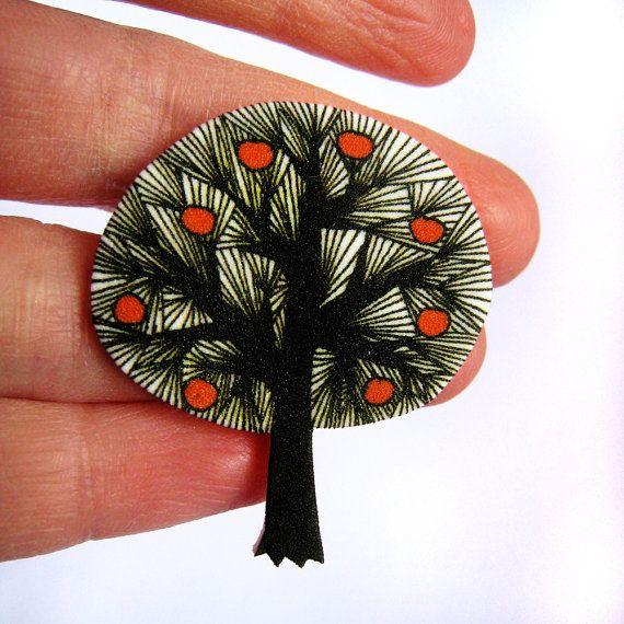 pplke tree brooch by zyzanna