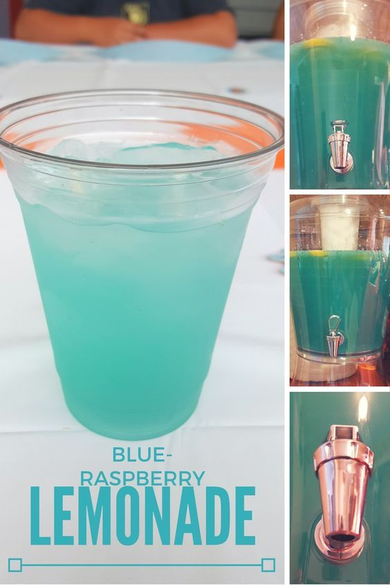 Freshly Squeezed Blue Raspberry Lemonade recipe