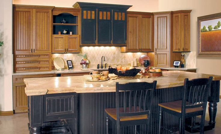 1000 images about kitchen on pinterest cherry kitchen for Black beadboard kitchen cabinets
