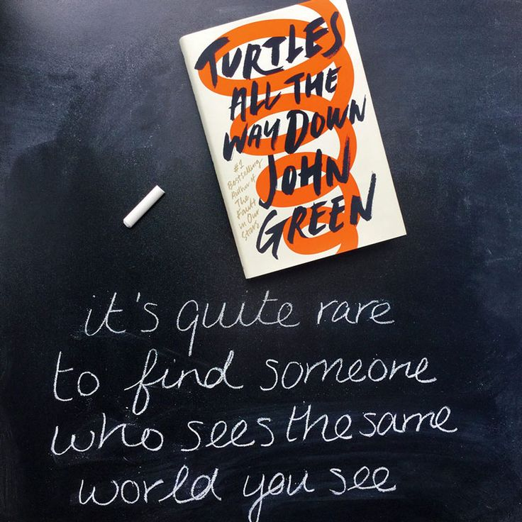 #1 Bestselling author John Green returns with his brand new novel, Turtles All The Way Down!