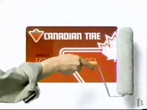 Canadian Tire Credit Card Commercial 1994