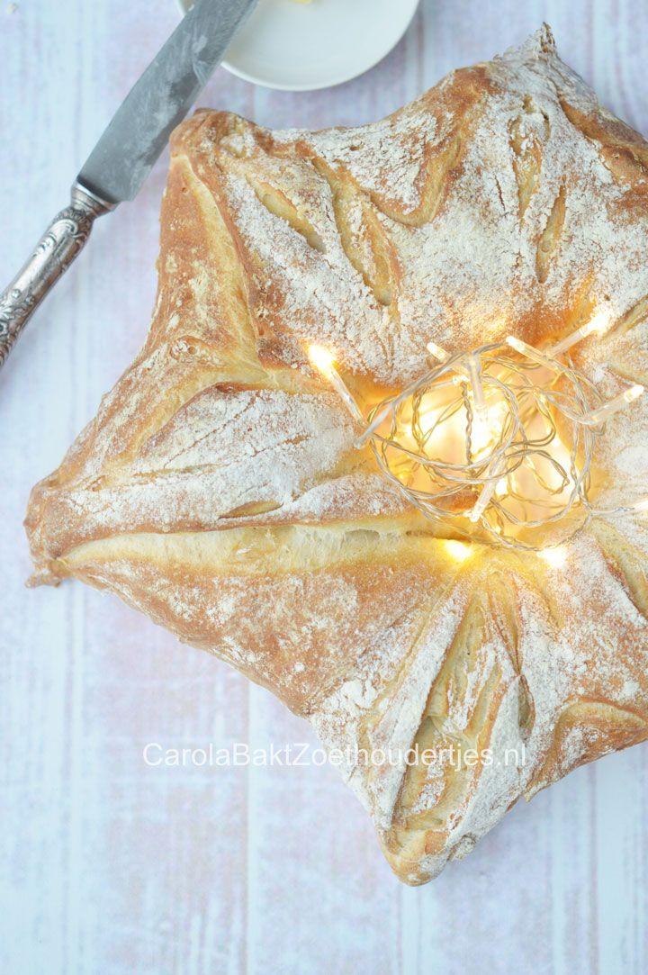 Bak met kerst je eigen robuuste kerssterbrood. Heel eenvoudig. De kandidaten van Heel Holland Bakt moesten ook een exemplaar maken. Feestelijk eenvoudig.
