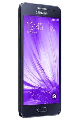 Smartphone Darty promo smartphone, Mobile nu Samsung GALAXY A3 NOIR prix promo Darty 299.00 €