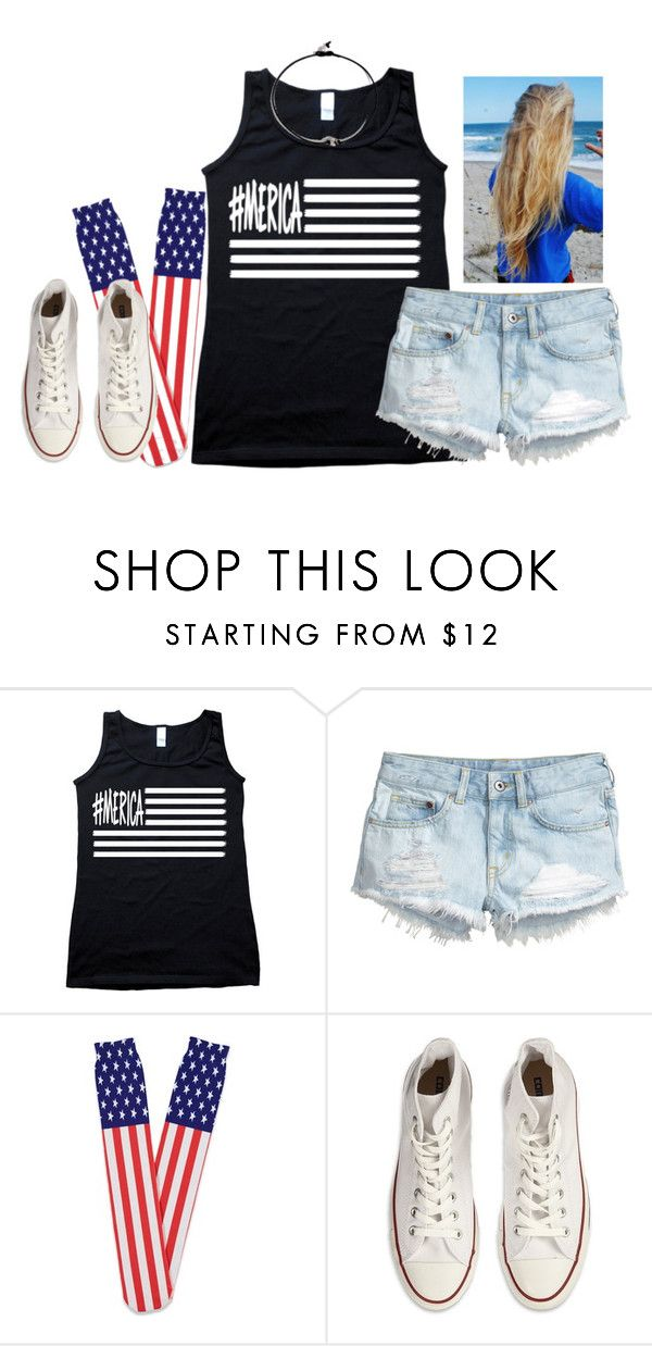 """""""What I'm wearing to the high school football game tomorrow night✌️"""" by kaley-ii ❤ liked on Polyvore featuring H&M, Forever 21, Converse and kaleyschoosets"""