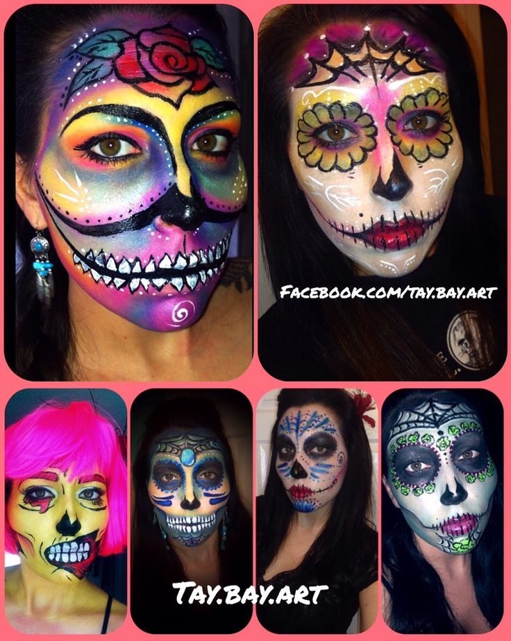 halloween ideas face paint - Halloween Easy Face Painting