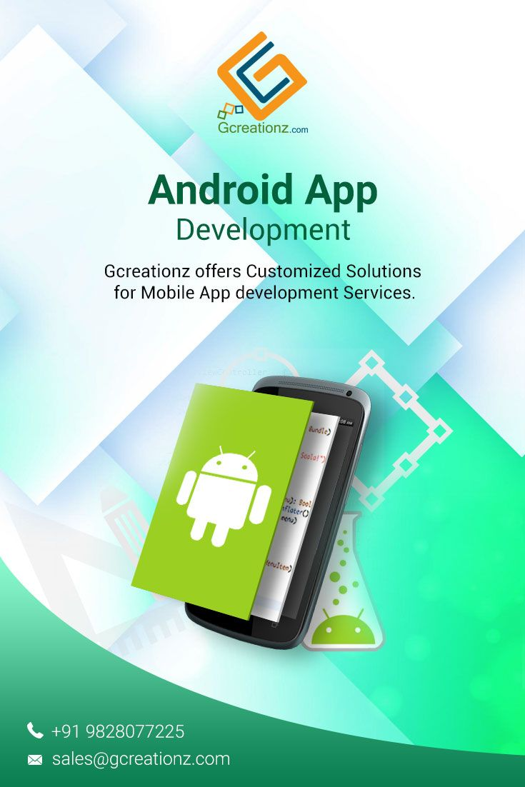 28f389a460 Gcreationz is the renowned company for Android app development which  provides customized solutions to enterprises according