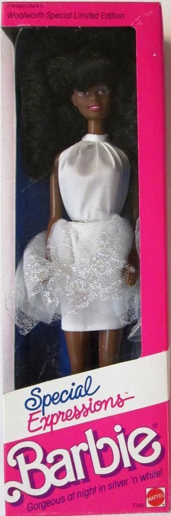 Barbie Special Expressions African American Doll Woolworth Special Limited Ed | eBay