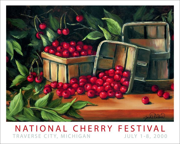 2000 Open Edition National Cherry Festival Print