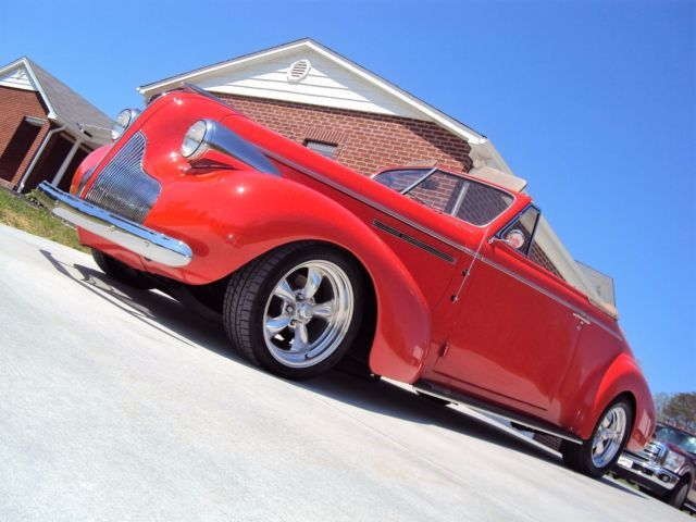 1939 Buick Century Convertible Resto-Mod - Check It Out!