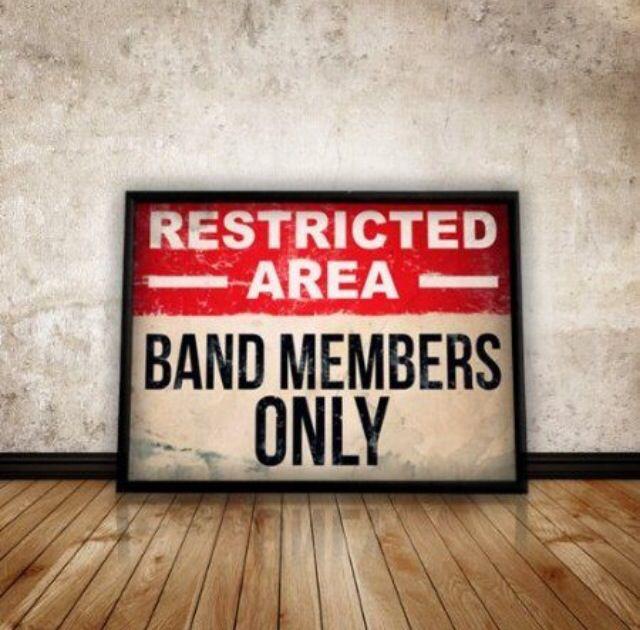 Band's lounge