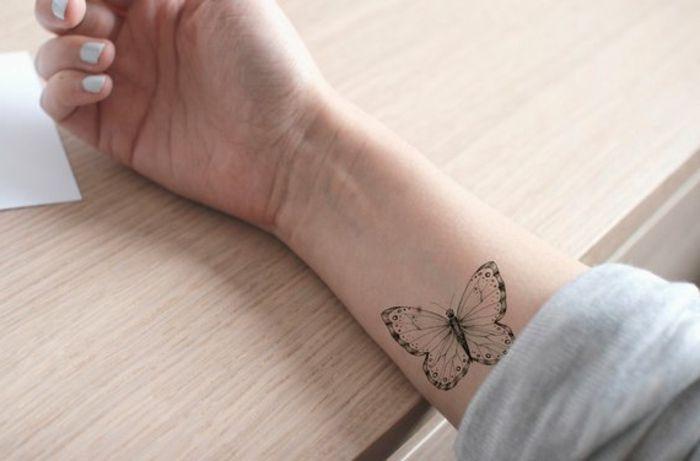 1001 Ideas De Tatuajes De Mariposas Super Bonitos Mariposa Tatuaje Tatuajes De Flores Y Mariposas Tatuajes