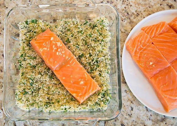 Panko Crusted Honey Mustard Salmon | Cooking Classy
