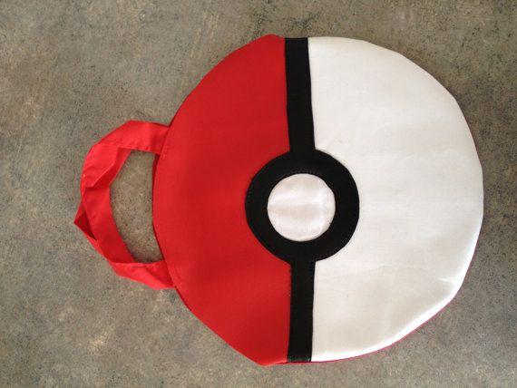 Pokemon Poke Ball BAG Ash Ketchum Costume by StellaKlinkerCostume