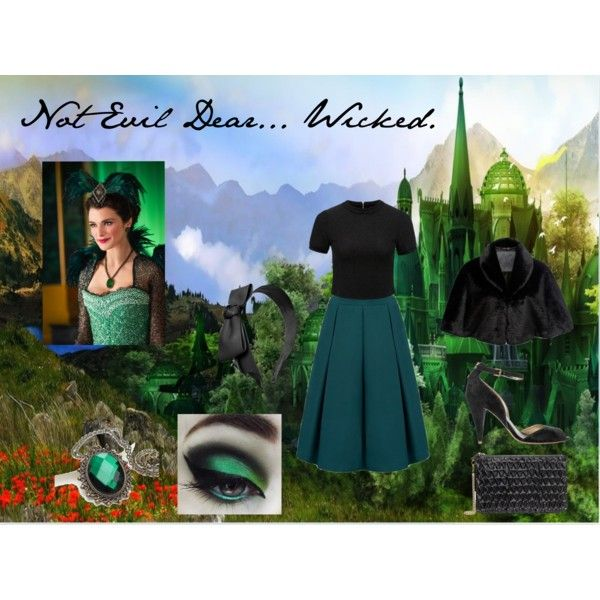 Not Evil Dear....Wicked by anaussiegirlslife on Polyvore featuring Forever New