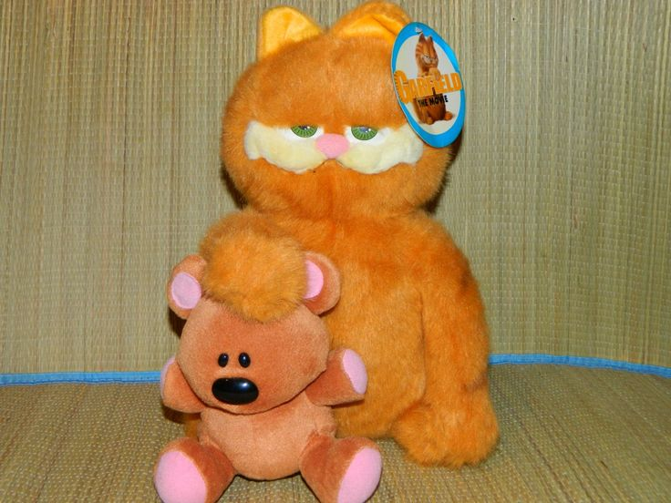 Игрушка Гарфилд в кино - Garfield the Movie  Высота 33см  Производство Green Horse Toys Цена 350гр  #игрушки #toys #Гарфилд #Garfield #GreenHorseToys #GarfieldtheMovie #Movie #dolls #куклы