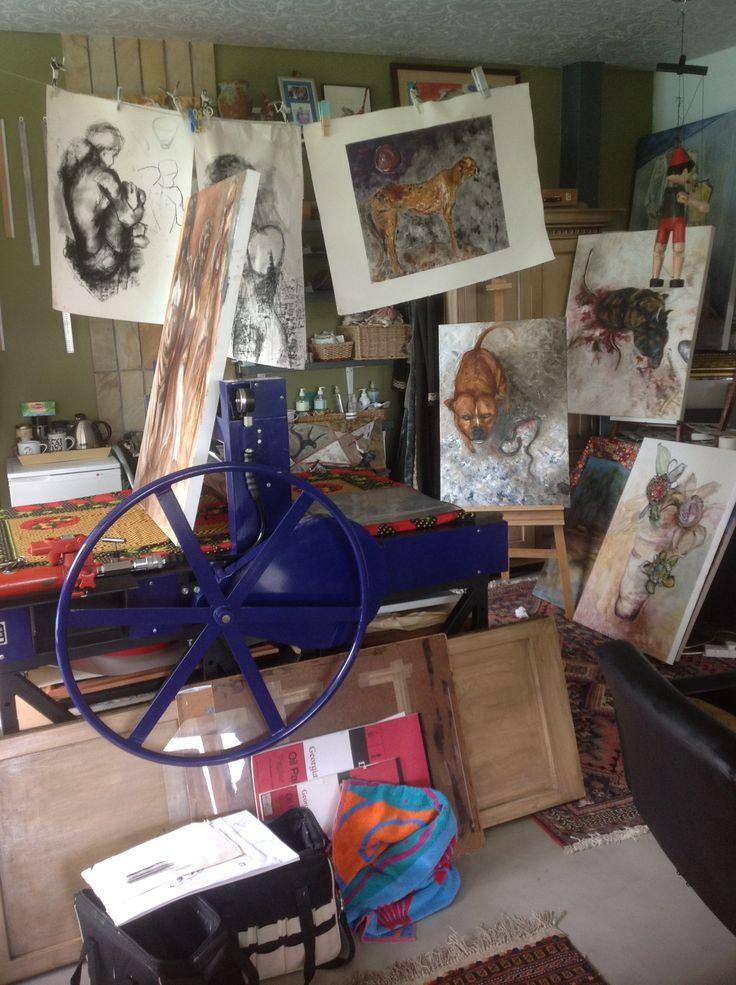 Pauline Hugo - My Studio