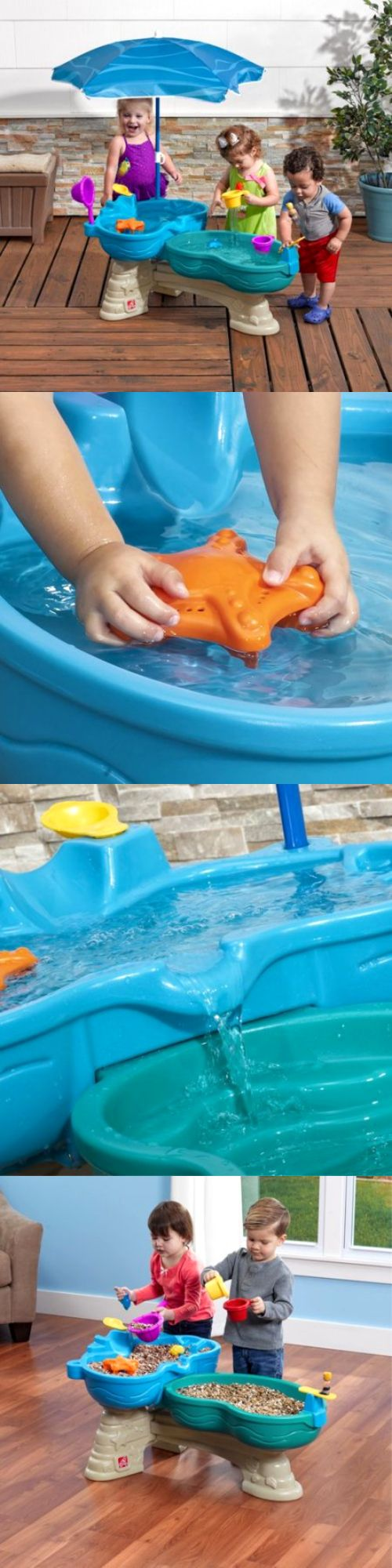 Water Toys 145993: Step2 Spill And Splash Seaway Water Table Includes Umbrella For Shade -> BUY IT NOW ONLY: $78.97 on eBay!