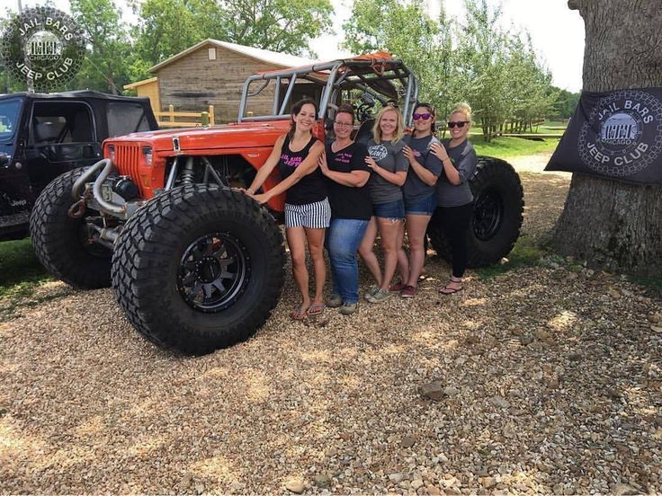 @jail_bars_jeep_club www.jeepbeef.com ・・・ Jail Bars Jeep Girls  #jeep #jeepher #jeepgirls #onlyprettieroffroad #wcw