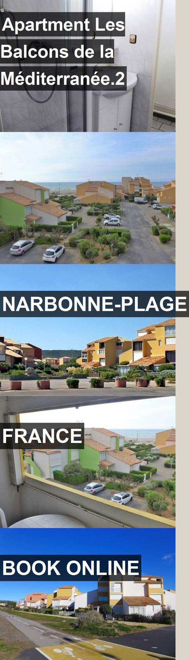 Apartment Les Balcons de la Méditerranée.2 in Narbonne-Plage, France. For more information, photos, reviews and best prices please follow the link. #France #Narbonne-Plage #travel #vacation #apartment