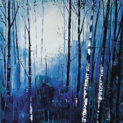 Art Prints Gallery - Birch and Blues (Limited Edition), £225.00 (http://www.artprintsgallery.co.uk/Daniel-Campbell/Birch-and-Blues-Limited-Edition.html)