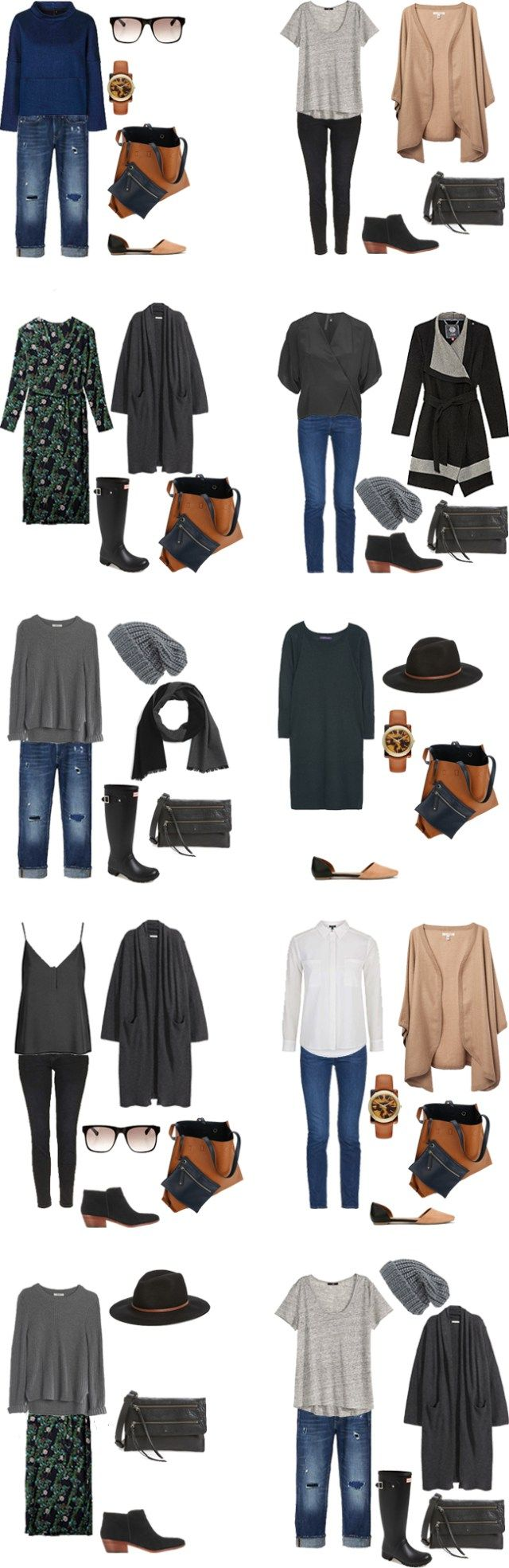 livelovesara - My life in a blog by Sara Watson. Packing list: Italy and Switzerland- Outfits Options. Winter 2016