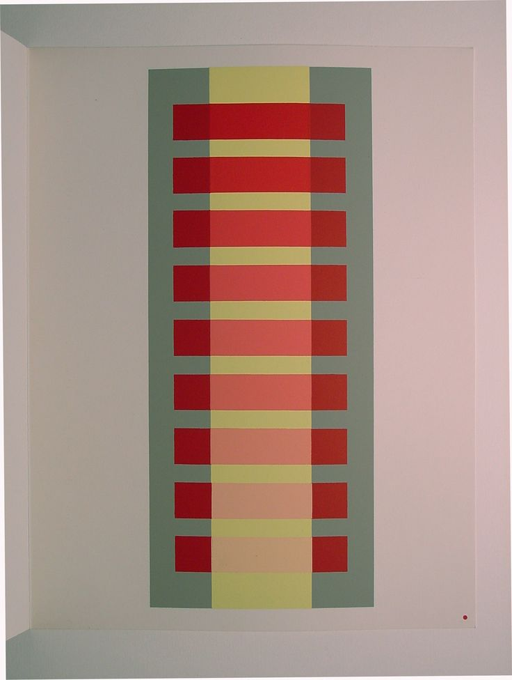 "Josef Albers, ""Interactions of Color"".  Josef Albers (1888-1976 ) was one of the most influential teaching artists and color theorists of the 20th century. He was a master of Germany' s Bauhaus group from 1925 until the Nazis closed it in 1933"