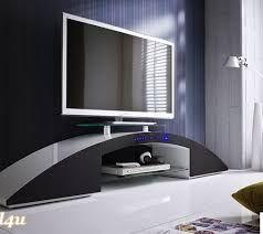 Tolles TV Möbelstück Fascina In Schwarz ✓ Mit HDMI Und Bluethooth Funktion  ✓ In Schönem Gebogenen Design ✓ Top Qualität ✓ Jetzt Entdecken Auf