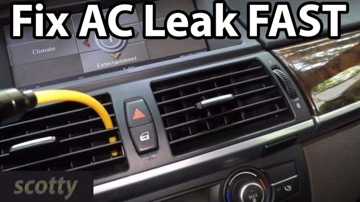 How To Find Car AC Leaks FAST Car find, Car, Car air