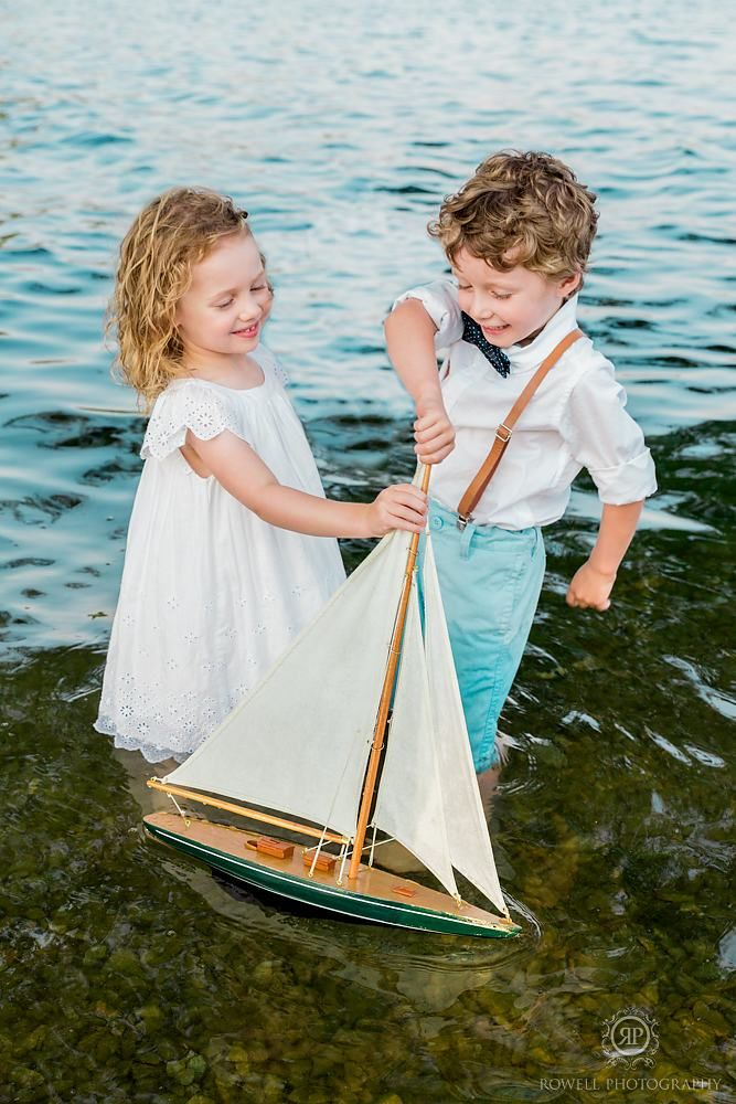 Children's Nautical Commercial Portraits  Nautical photo shoot  Photo by: Rowell Photography