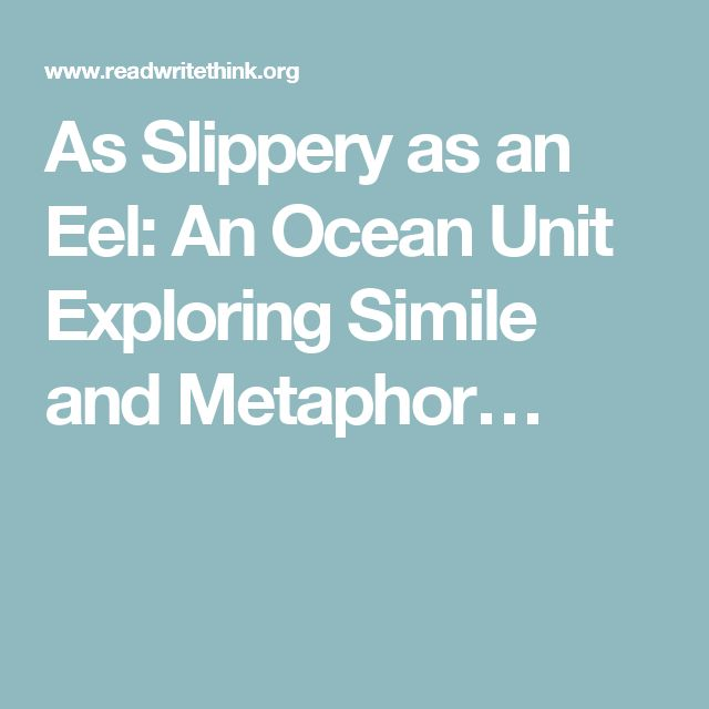As Slippery as an Eel: An Ocean Unit Exploring Simile and Metaphor… - The International Literacy Association and The National Council of Teachers of English maintains the site. This site is full of already-made literacy lesson plans that are based on the standards. It also has video resources, Print outs for the classroom, and Mobile apps. I will use these lessons for reference and ideas when I begin to plan so I can discover more exciting and interesting ways to teach literacy.
