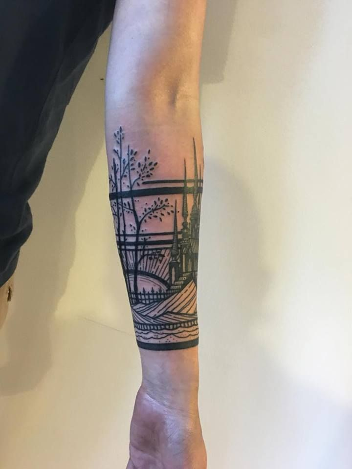 My first tattoo by Thieves of Tower @ San Francisco : tattoos
