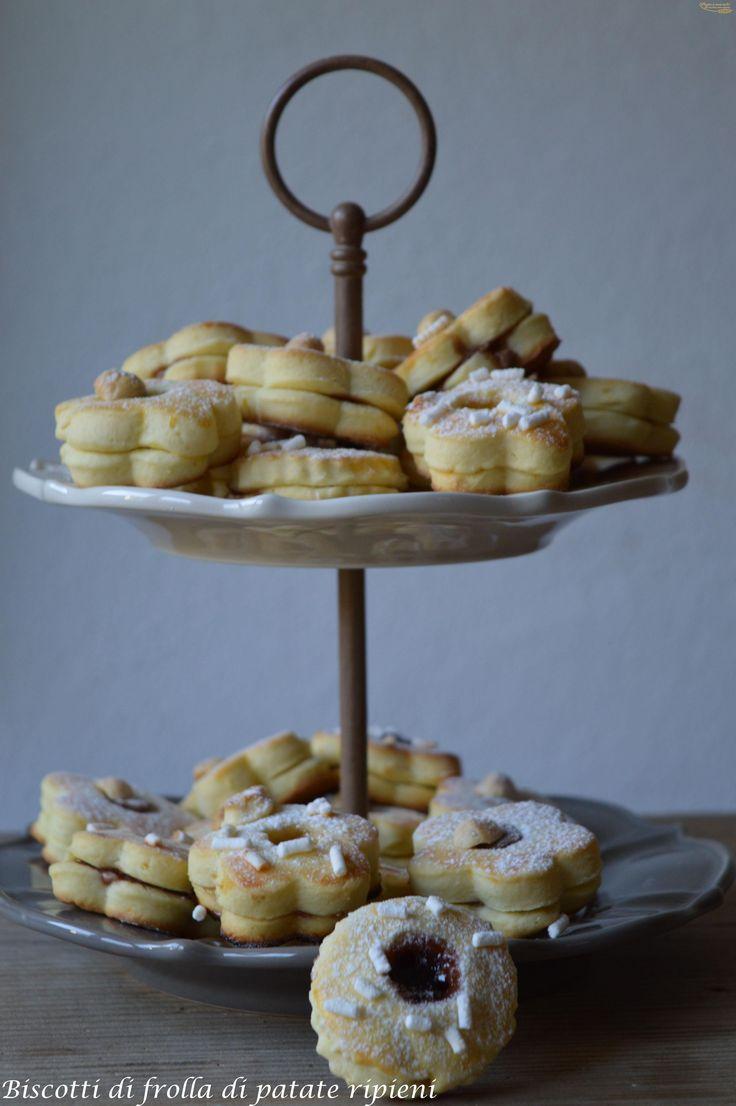 biscotti di frolla di patate