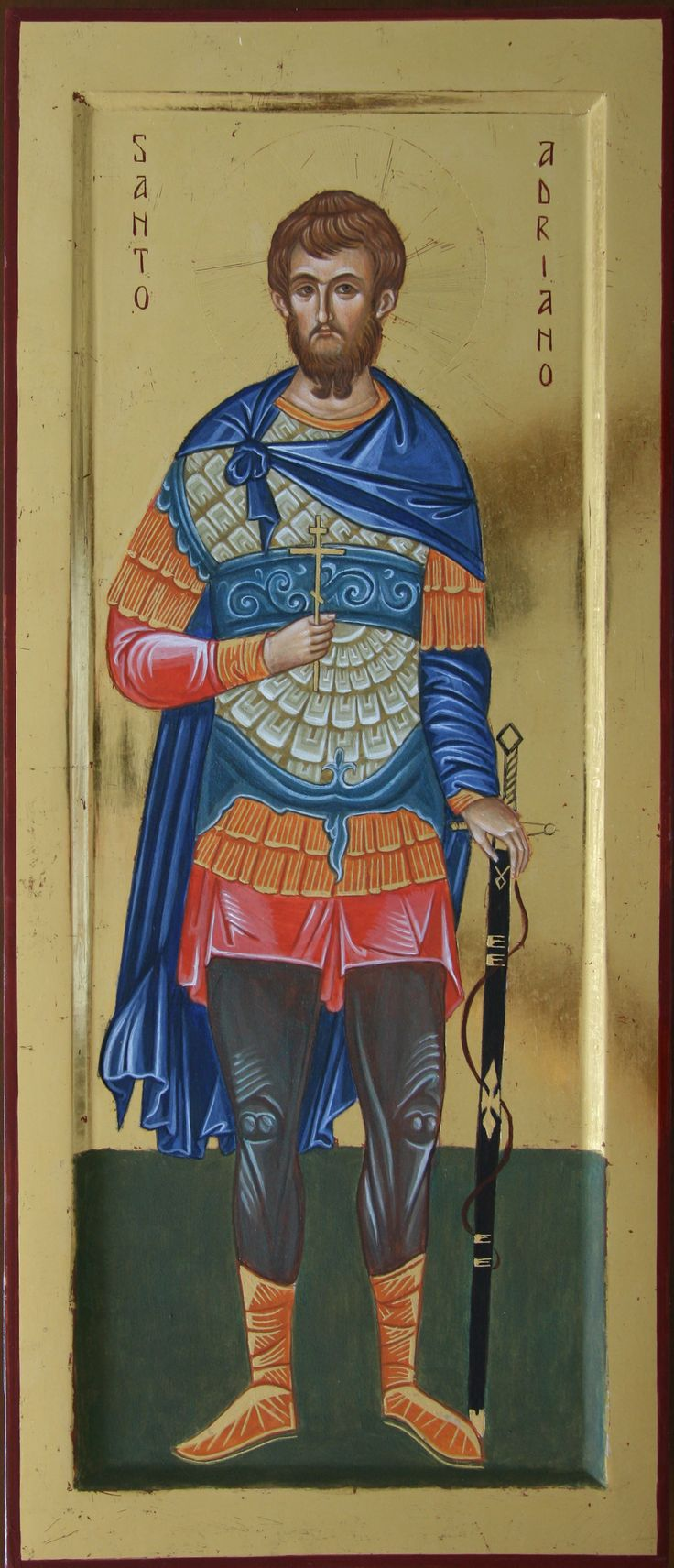 Sant'Adriano (di Bergamo) per mano di Adriano Geroli (Italy)
