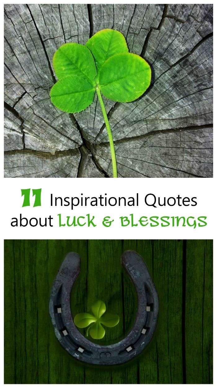 11 St. Patricks' Day quotes about luck, friendship and blessings. These are fun to share with friends or make into greeting cards.