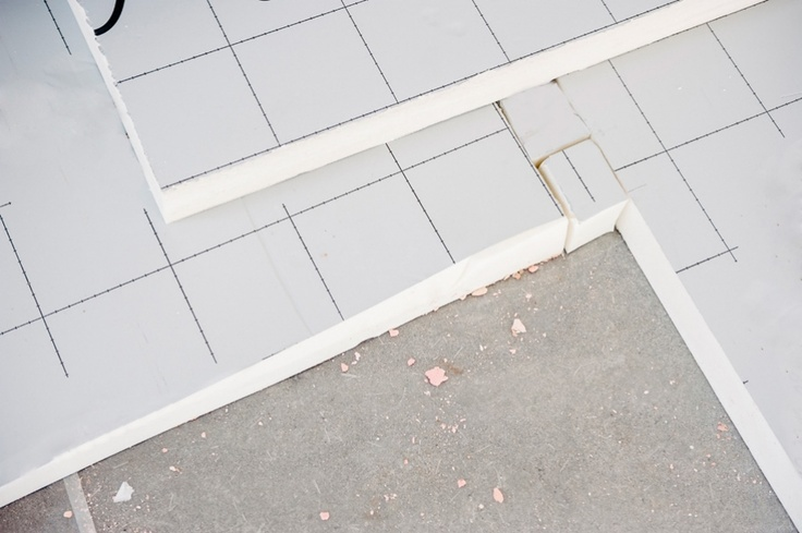 Polyurethane boards allow an even thickness of insulation, higher insulating performances and allows for the direct application of floor finishing (which could also be a nice polyurethane laminate, or polyurethane faux-wood material by the way!)  Polyurethane insulation