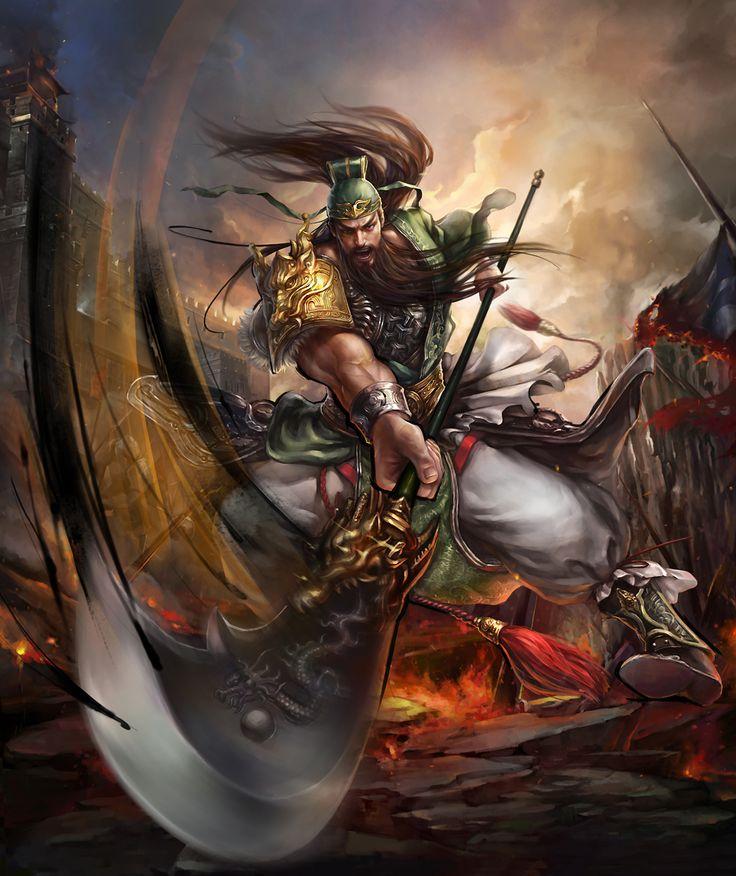 Guan Yu by xxxsof on DeviantArt
