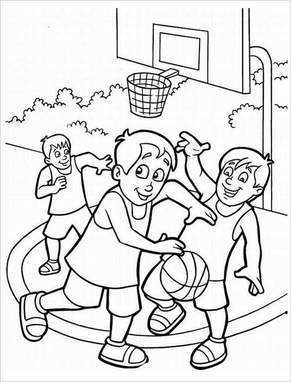 Basketball Coloring Pages To Print For Kids Free Coloring Sheets Sports Coloring Pages Coloring Pages For Boys Free Printable Coloring Sheets