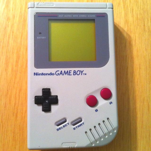 Yep, I still have my Game Boy. Dr Mario, Super Mario Land & Tetris