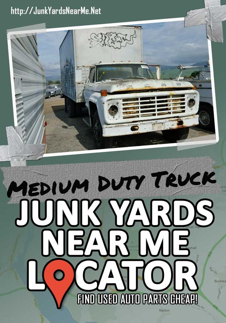 Medium Duty Truck Salvage Yards Near Me Medium Duty Trucks Used Car Parts Salvage