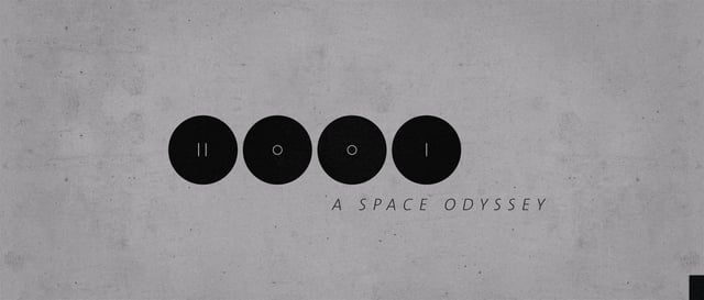 title design of 2001 - a space odyssey (1968, Kubrick). music by apparat - goodbye.  i created this short animation for a motion design class to teach finishing techniques in after effects.  note: maybe its not a title sequence for the 1968 movie, but for an adapted series inside that universe - dave and hal arguing and stuff.