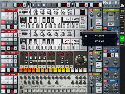 Properllerhead ReBirth for iPad - 2 TB-303's, TR-808 + TR-909. $15 on iTunes. http://bit.ly/GJOuCt: Music App, Musicmak App, Music Ipad, Ios App, Music Products, Technology Resources, App Stores, Ipad App, Music Mak App