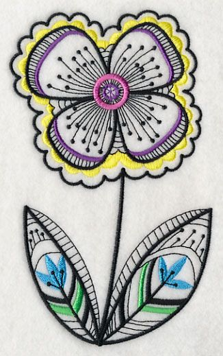 Images about my elna embroidery flowers on pinterest