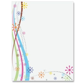 Spring Spree Specialty Border Papers