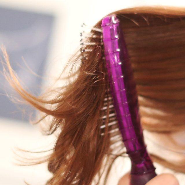 how to get rid of hairspray buildup in hair