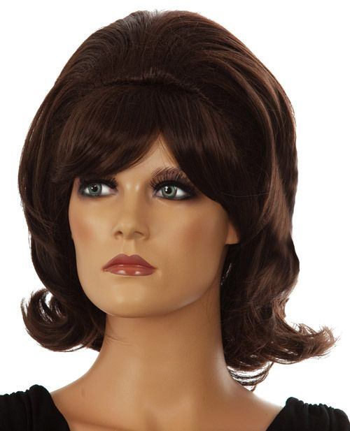 DELUXE Hairspray 1960's (Tracy Turnblad) Brown Costume Wig - Allaura Brand This is an amazing quality Deluxe 1960's Hairspray wig, it looks reals and feels spectacular!  This is a beautiful classic 1960's Hairspray deluxe costume wig. Very stylish and perfect for that Hairspray Tracy Turnblad costume. Very high quality wig. www.thewigoutlet.com.au