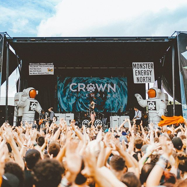Crown The Empire // Warped Tour 2016